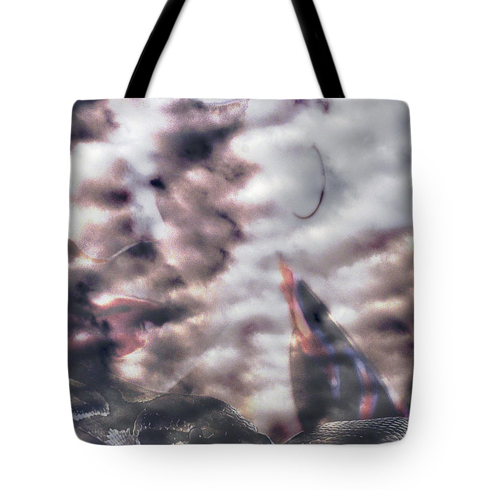 Clay Tote Bag featuring the photograph Celestial Visions by Clayton Bruster