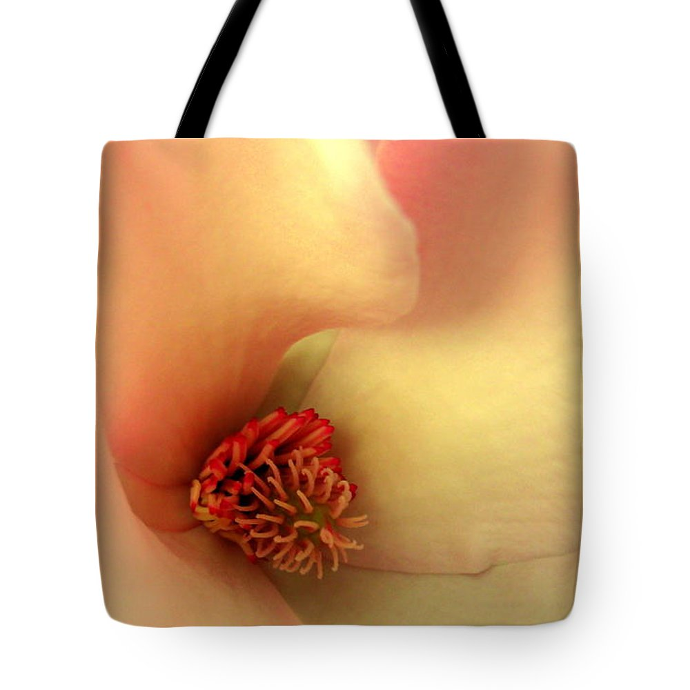 Magnolia Tote Bag featuring the photograph Center Of Attention by Erin Rednour
