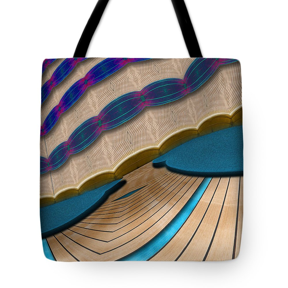 Photography Tote Bag featuring the photograph Center Stage by Paul Wear