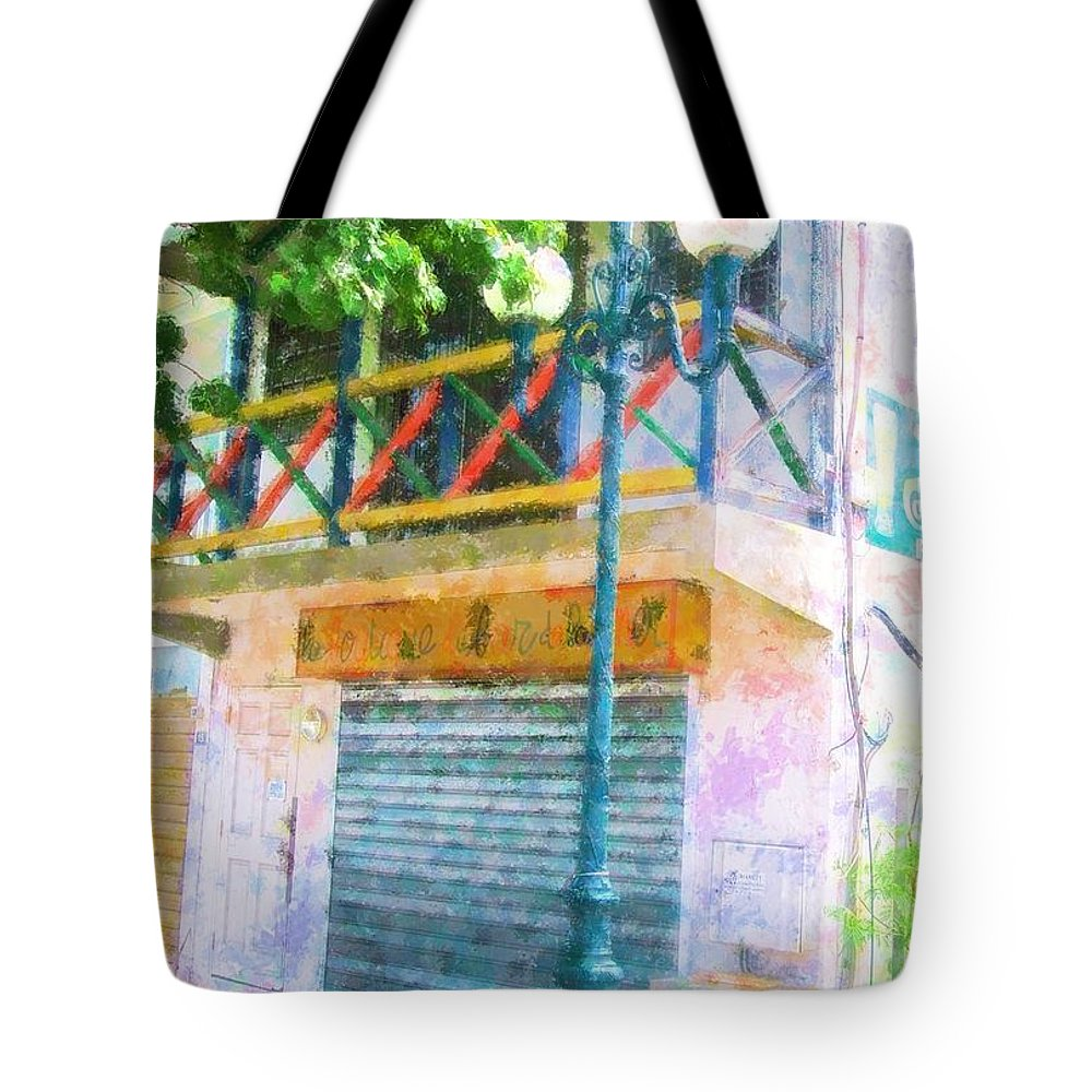 St. Martin Tote Bag featuring the photograph Cest La Vie by Debbi Granruth