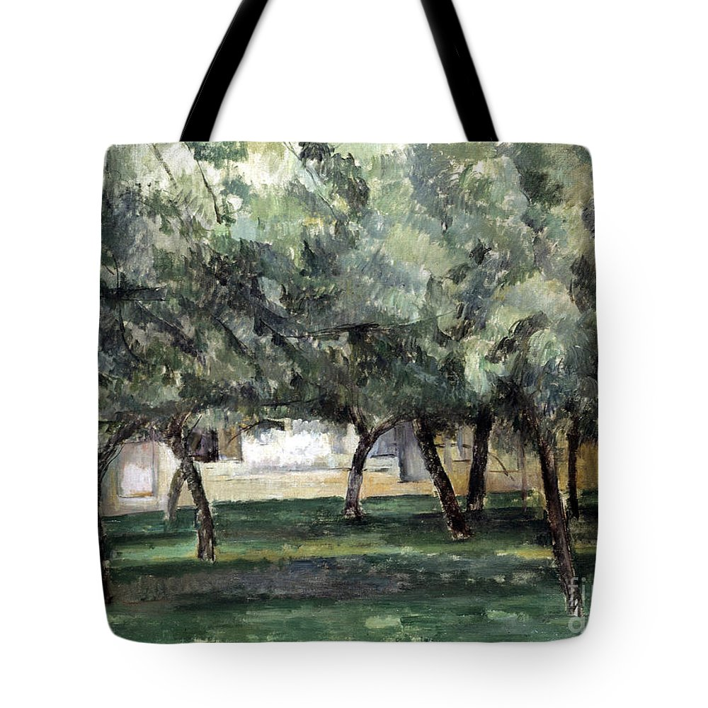 19th Century Tote Bag featuring the photograph Cezanne: Le Clos Normand by Granger