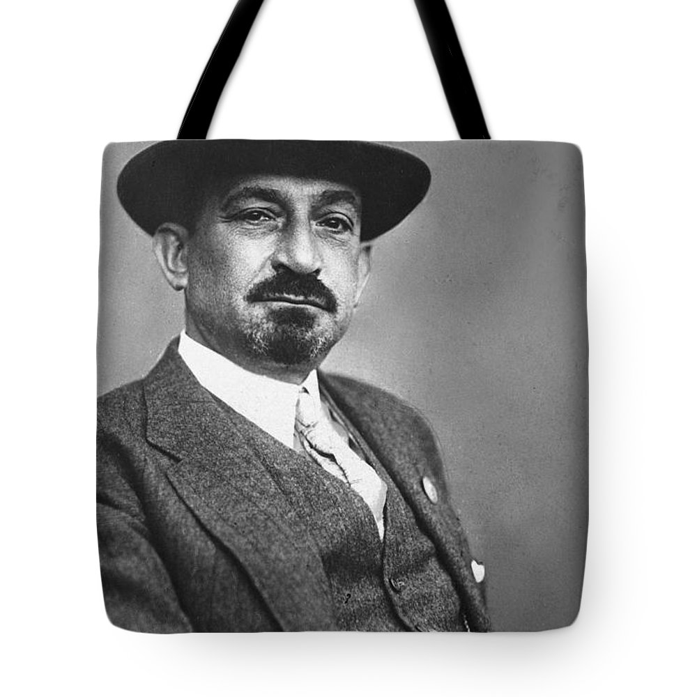 19th Century Tote Bag featuring the photograph Chaim Weizmann by Granger