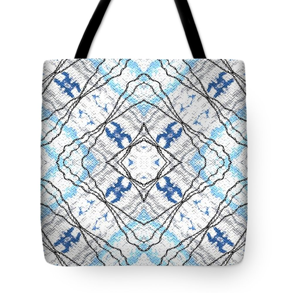 Australia Tote Bag featuring the photograph Chain Of Clouds Pattern by Zazl Art