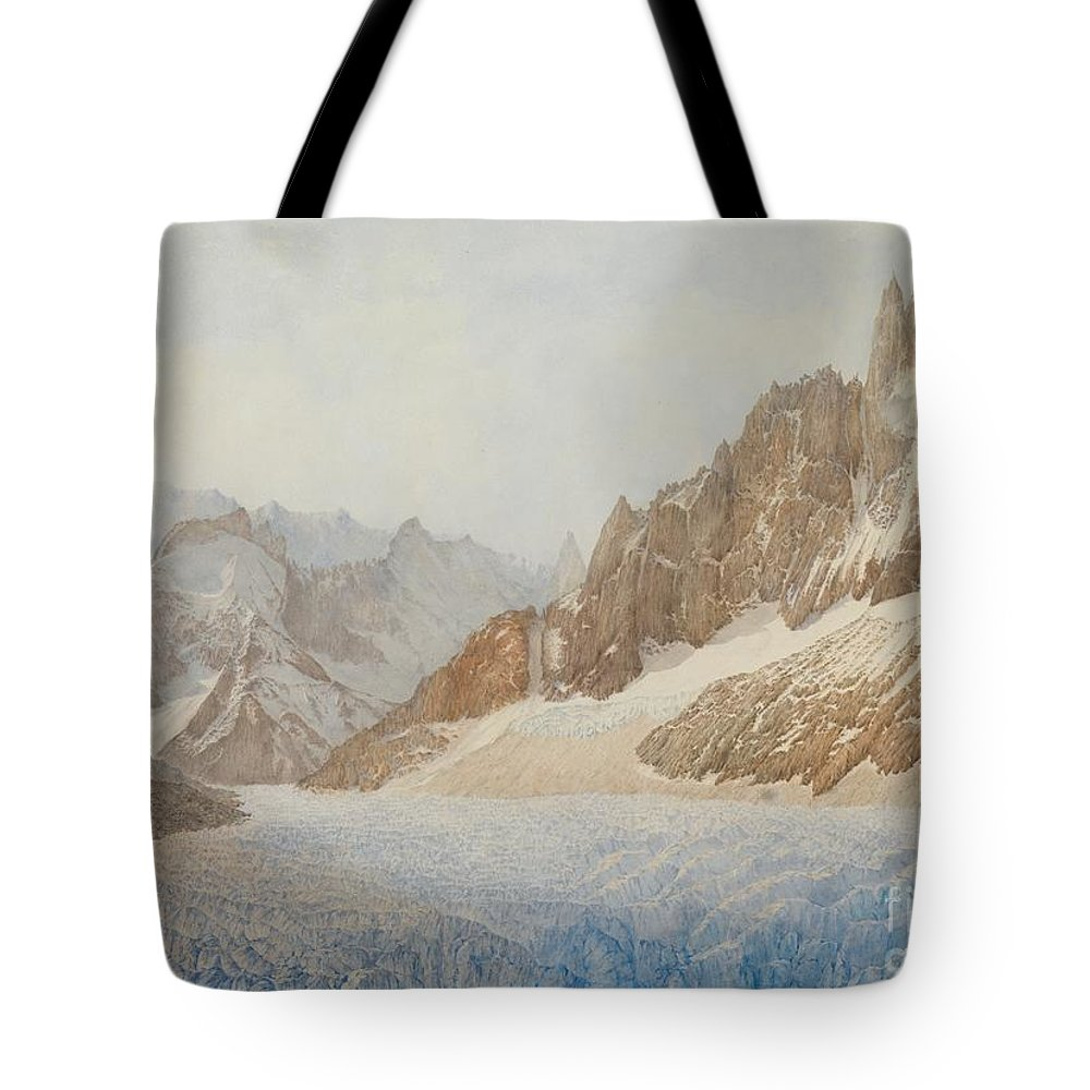 White Mountains Paintings Tote Bags