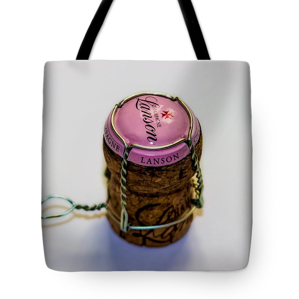 Champagne Tote Bag featuring the photograph Champagne by Martin Newman