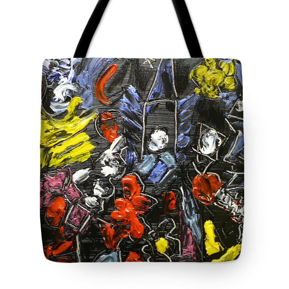 Delicatessen Essence Tote Bag featuring the painting Chance by Coco de la Garrigue
