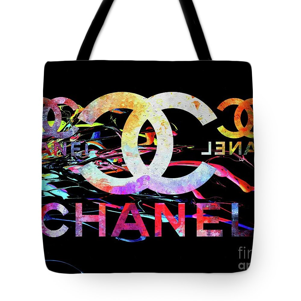 Vogue Mixed Media Tote Bags