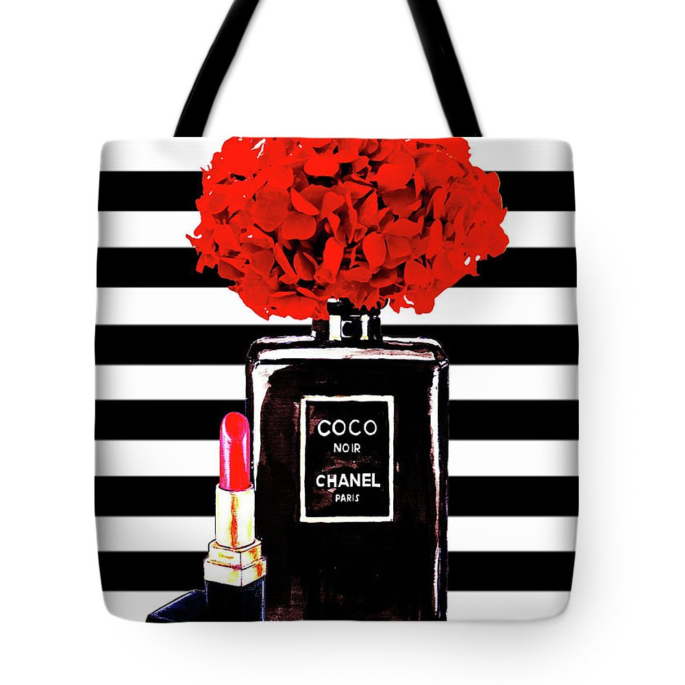0c8d45ce99bf Chanel Print Tote Bag featuring the painting Chanel Poster Chanel Print  Chanel Perfume Print Chanel With