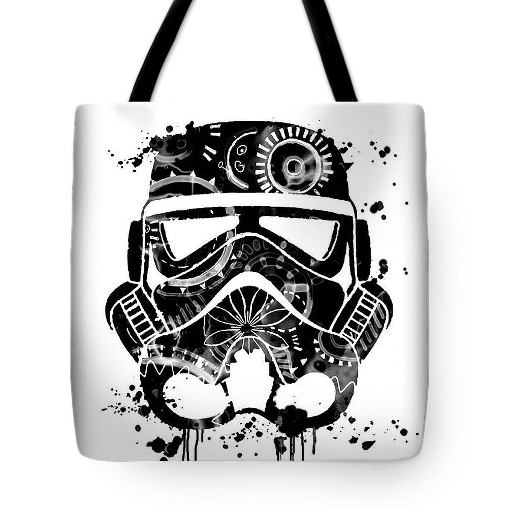Star Wars Poster Star Wars Print Star Wars Stormtrooper Mask Tote