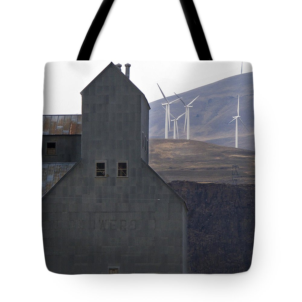 Wind Tote Bag featuring the photograph Changing Landscapes by Jeffery Ball