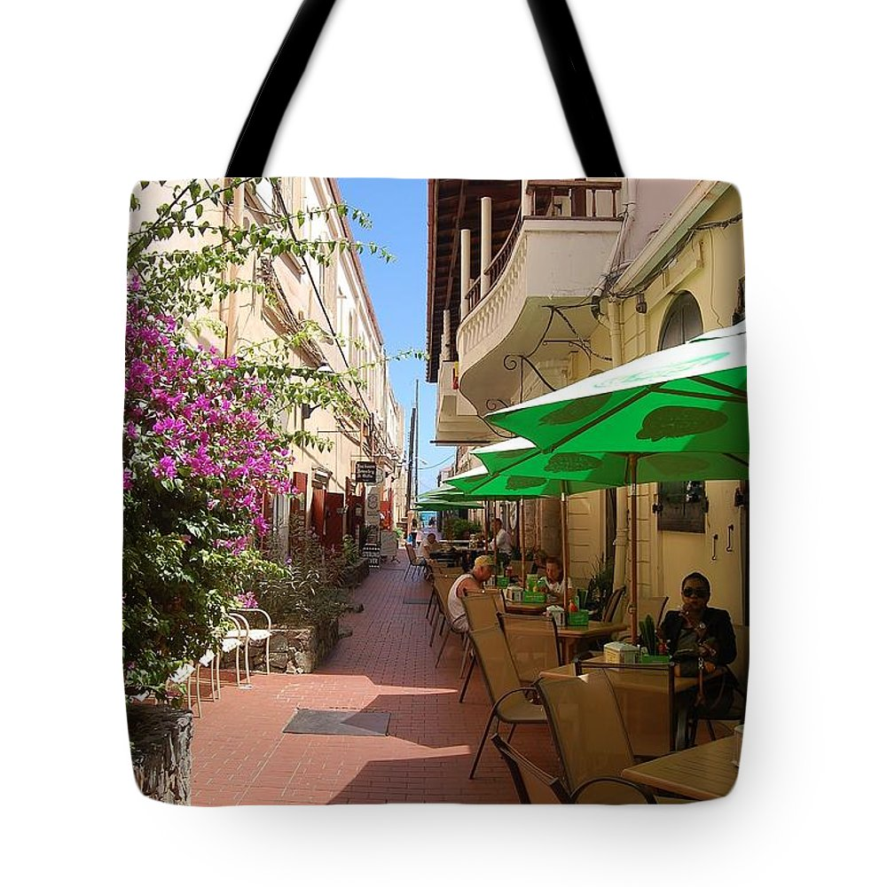 St. Thomas Tote Bag featuring the photograph Charlotte Amalie by Christopher James