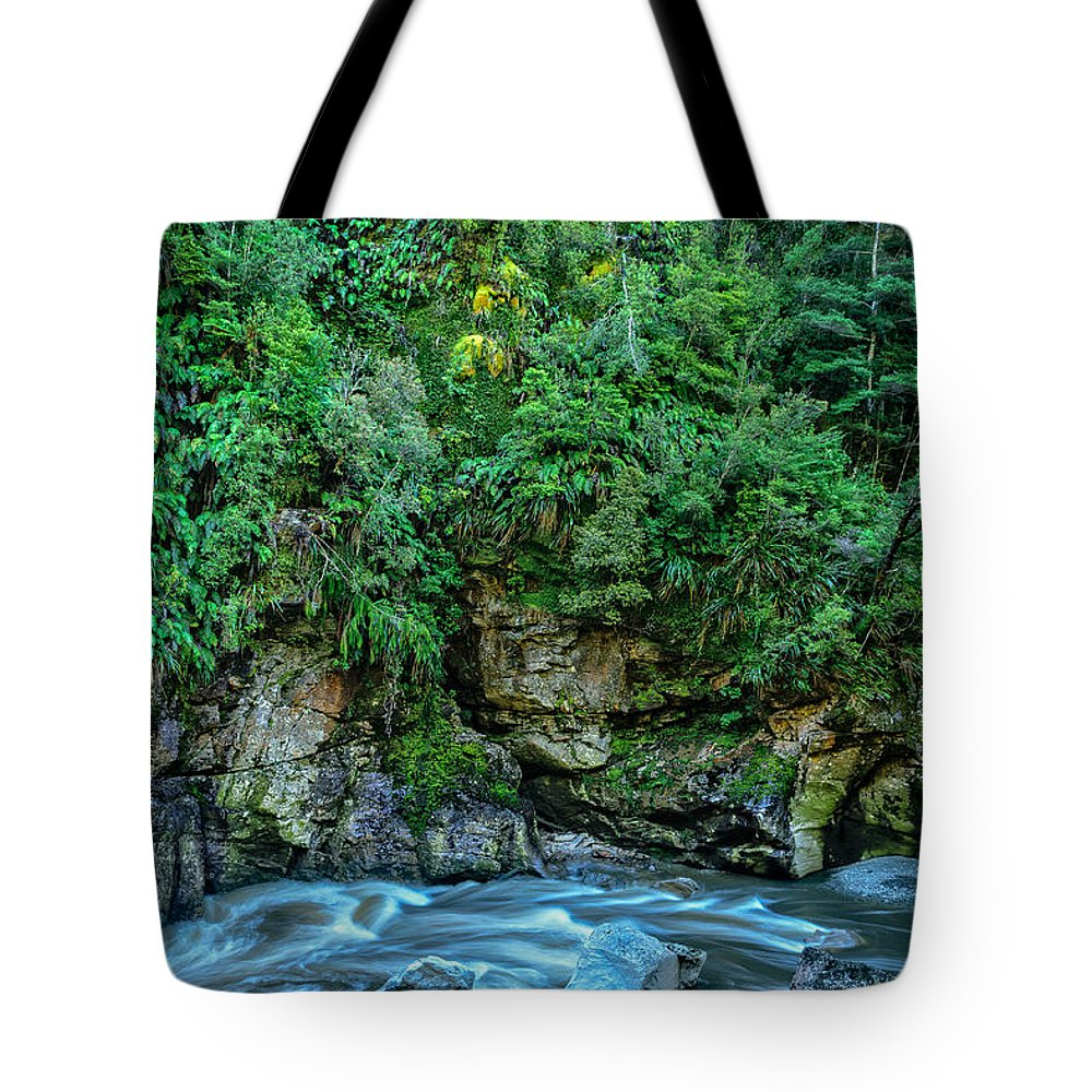New Zealand Tote Bag featuring the photograph Charming Creek Walkway 2 by Robert Green
