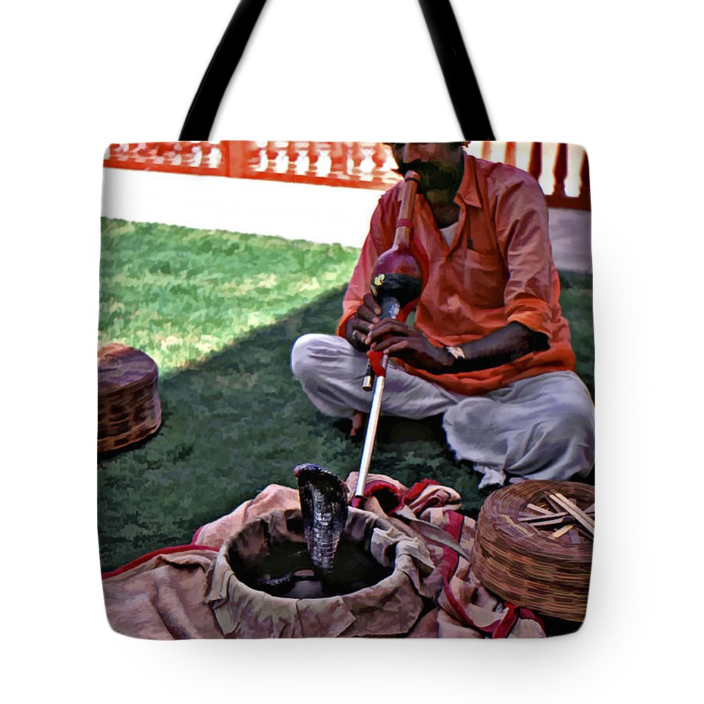 Rajasthan Tote Bag featuring the photograph Charming by Steve Harrington
