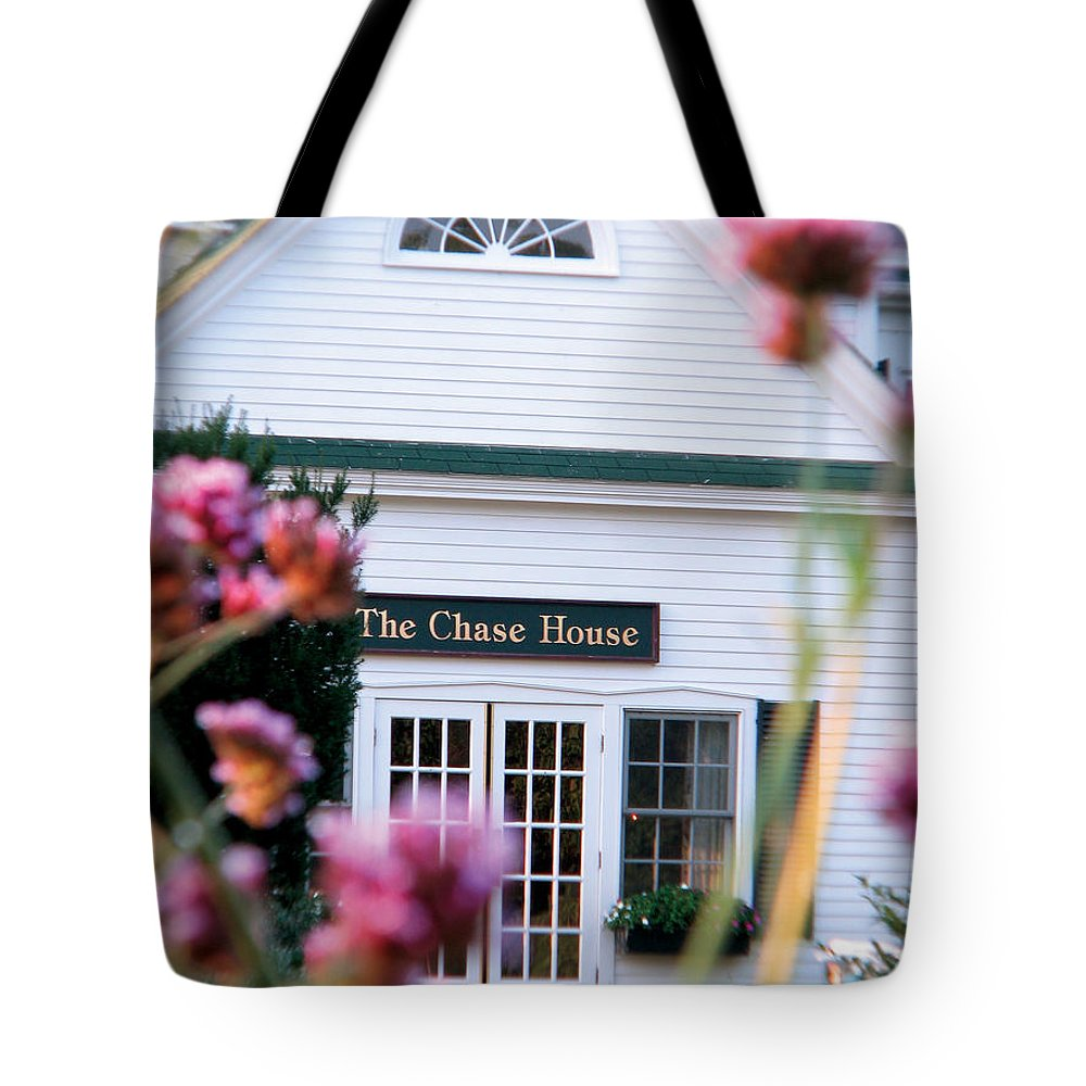 The Chase House Tote Bag featuring the photograph Chase House by Michael Mooney