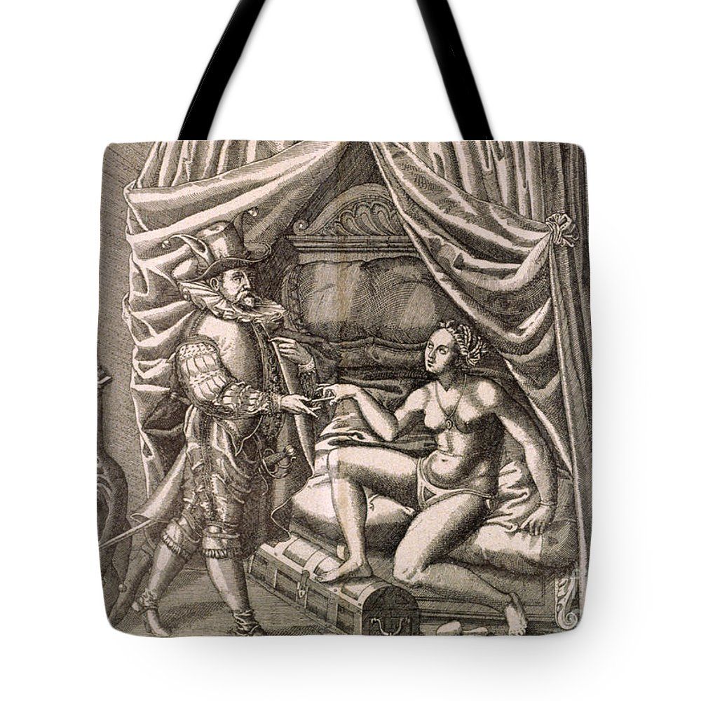 18th Century Tote Bag featuring the photograph Chastity Belt by Granger