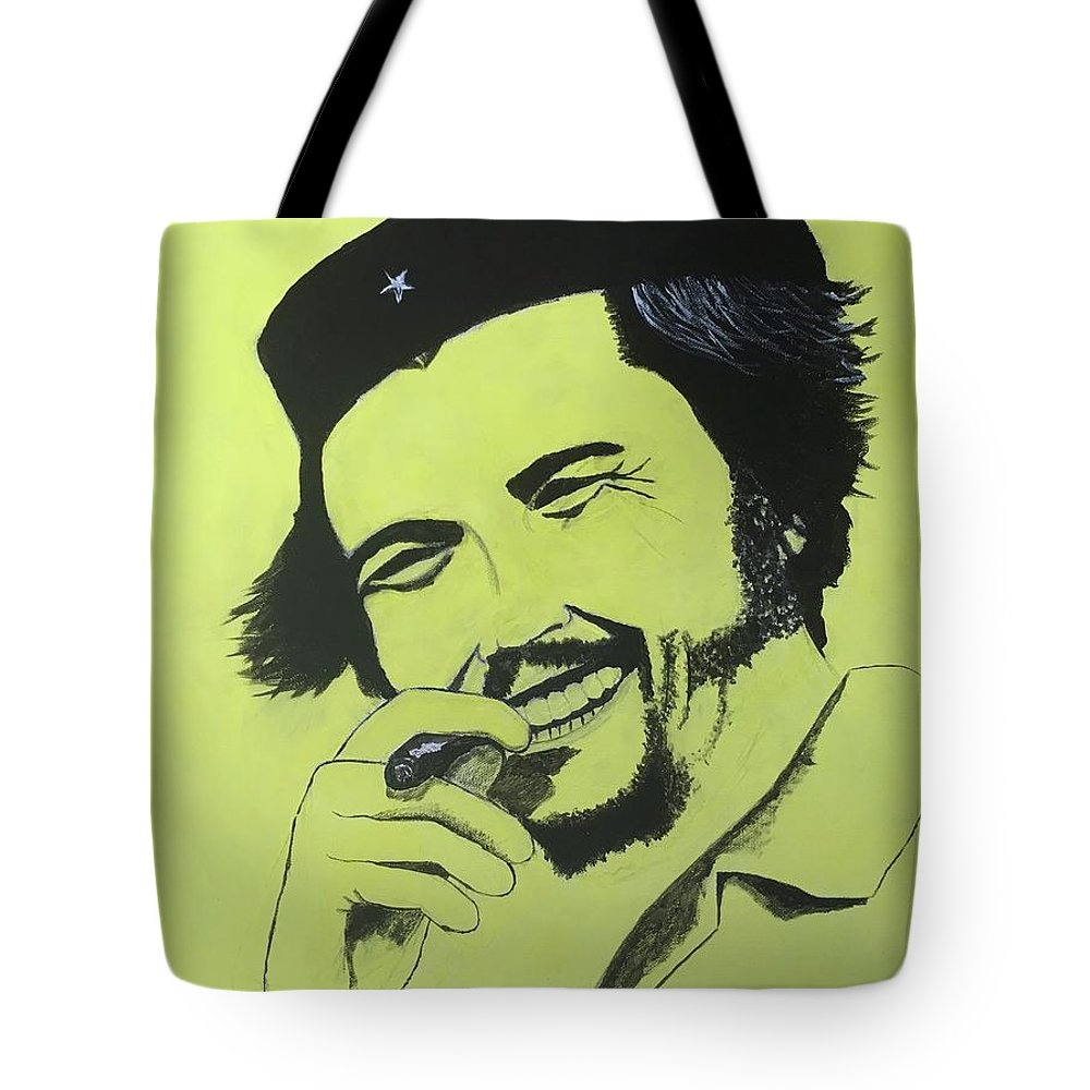 Che Tote Bag featuring the painting Che by Jason Raad