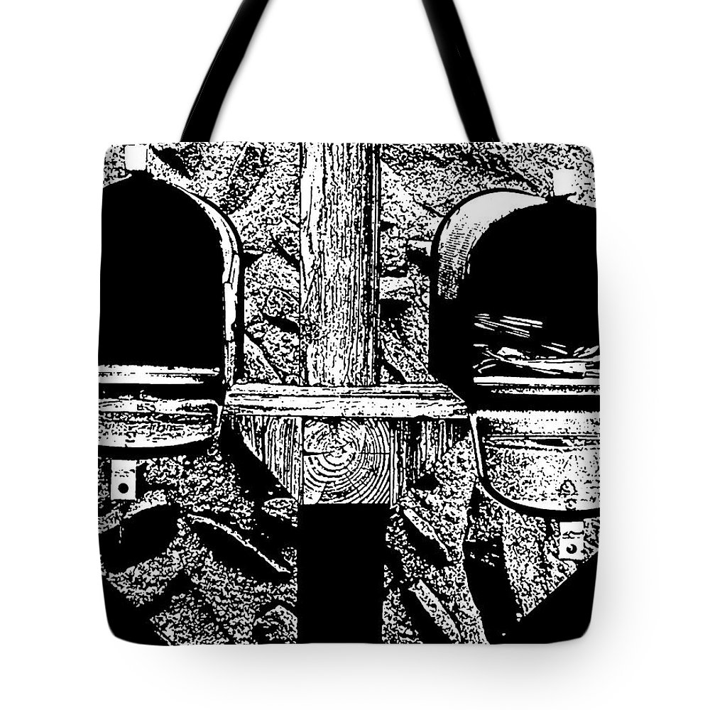 Mail Tote Bag featuring the photograph Check Day by Albert Stewart