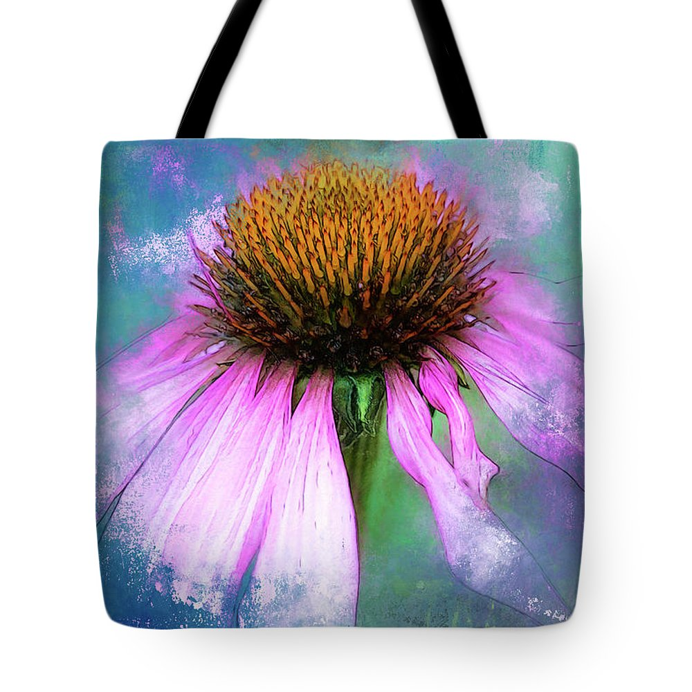 This Image Was Photographed In The Garden. Tote Bag featuring the photograph Cheerful. by Lyn Darlington