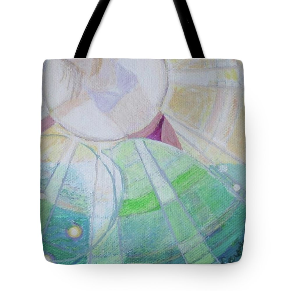 Chelsea Eareckson Tote Bag featuring the painting Chelsea Eareckson 21 by Dawn Eareckson