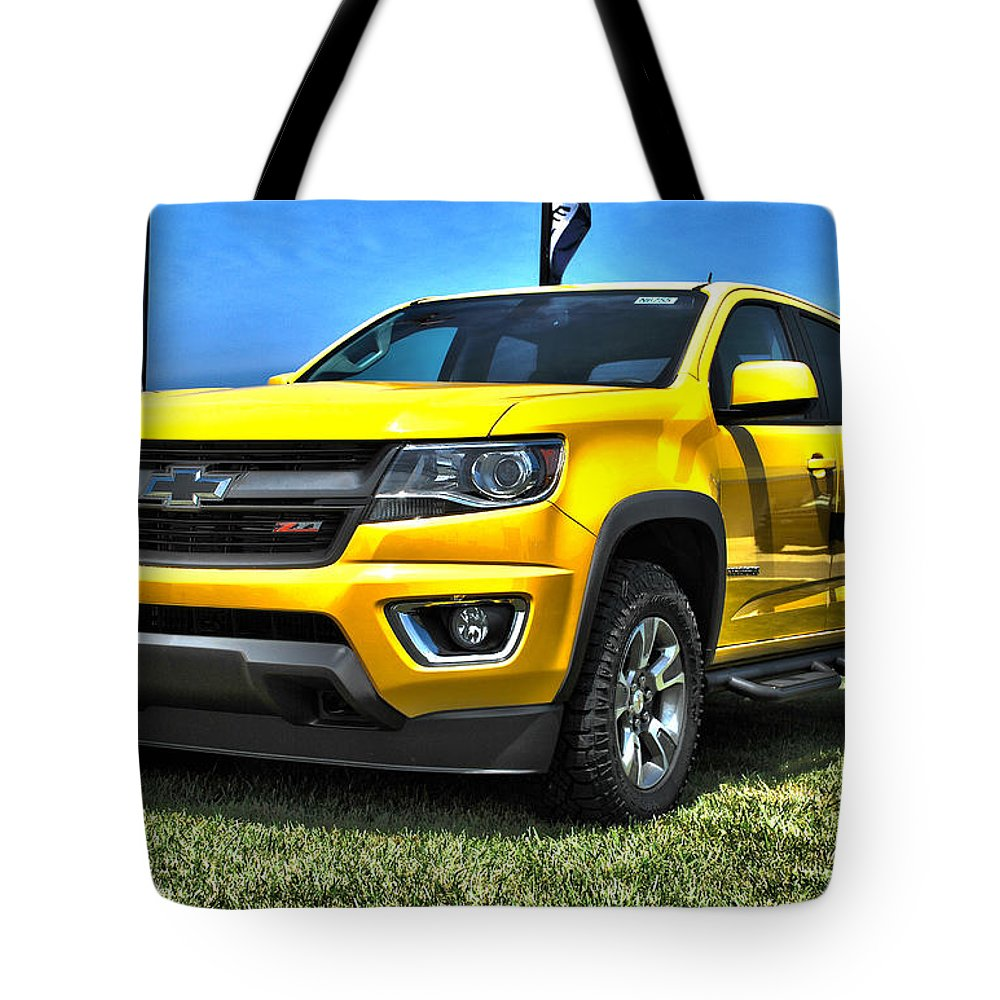 Chevrolet Colorado Trail Boss 3 Tote Bag for Sale by Adam Kushion
