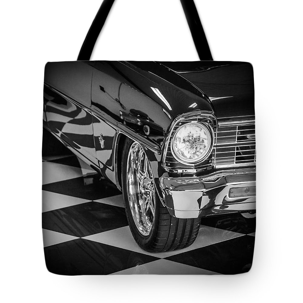 Chevy Nova Tote Bag featuring the photograph Chevy Nova by Mark Maloney