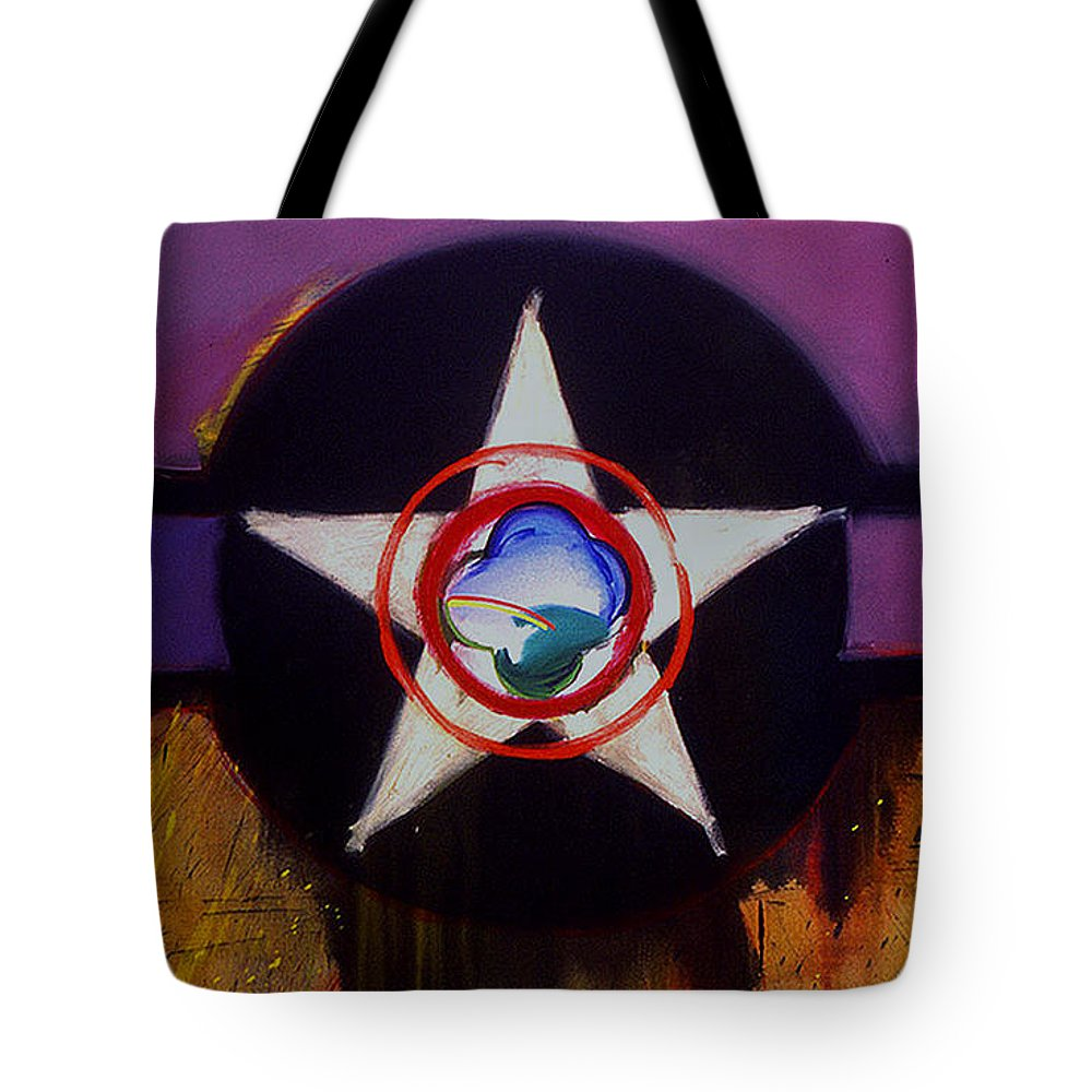 Air Force Insignia Tote Bag featuring the painting Cheyenne Autumn by Charles Stuart