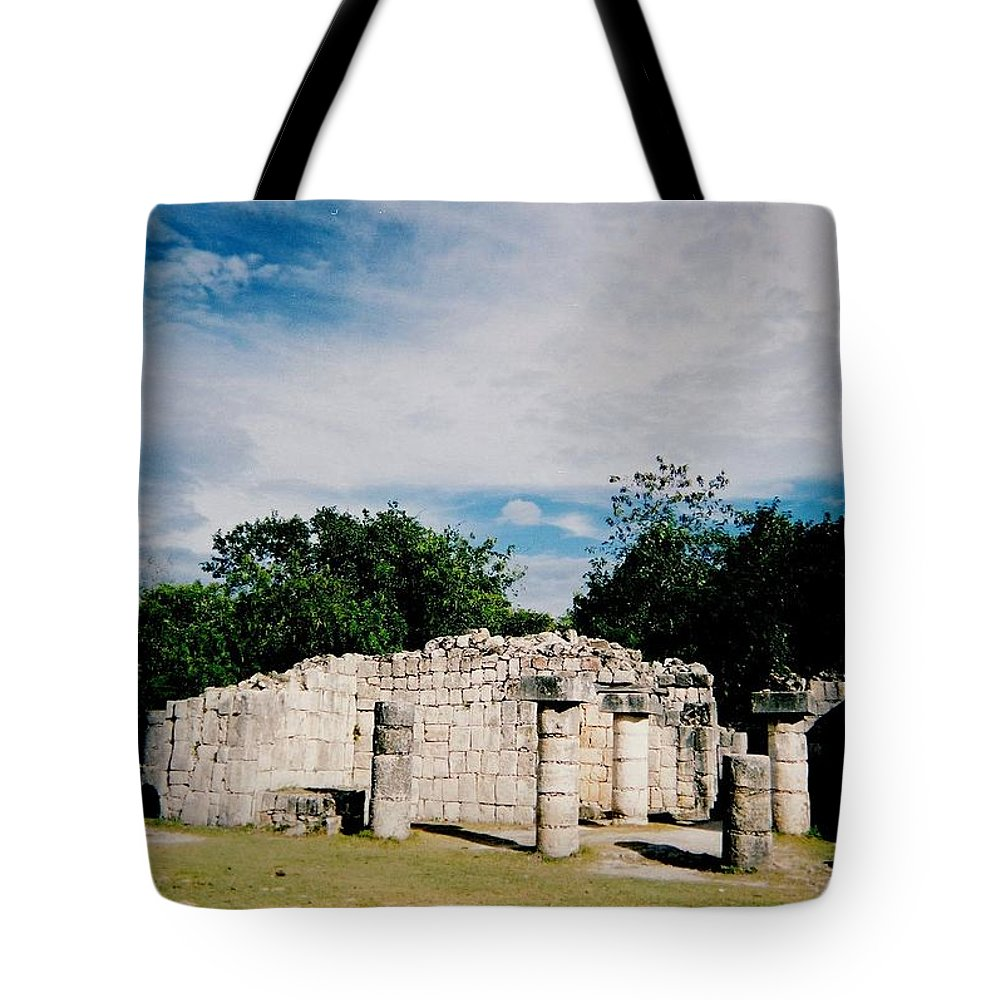Chitchen Itza Tote Bag featuring the photograph Chichen Itza 2 by Anita Burgermeister