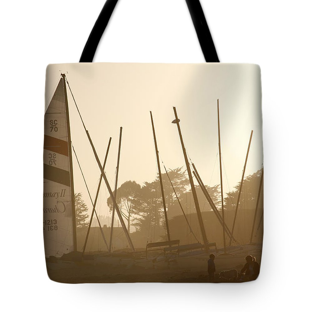 Ship Tote Bag featuring the photograph Child's Play by Marilyn Hunt