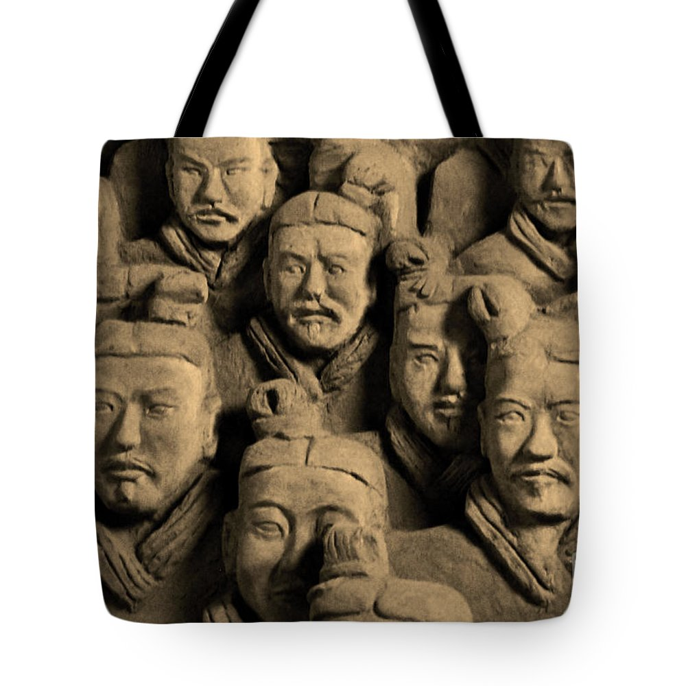 China Tote Bag featuring the photograph China 26 by Ben Yassa