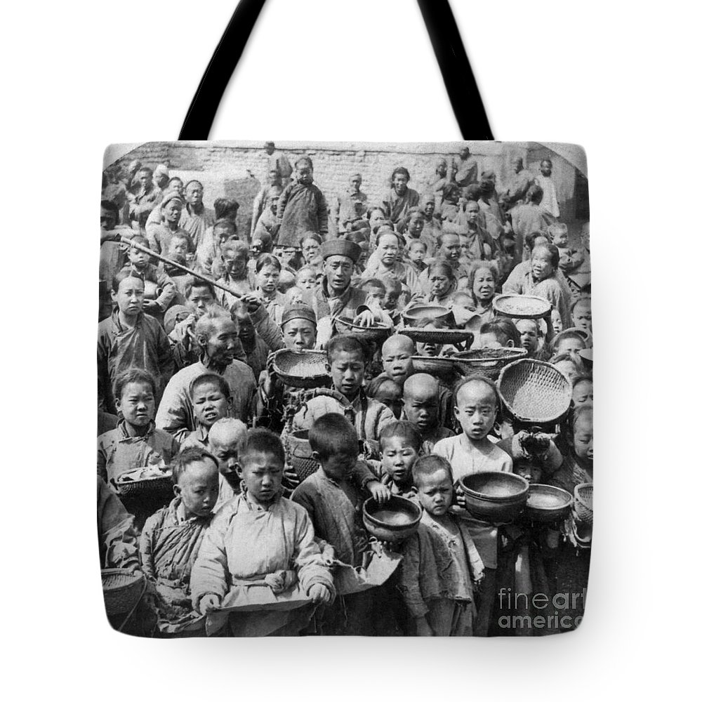 1902 Tote Bag featuring the photograph China: Peking, C1902 by Granger