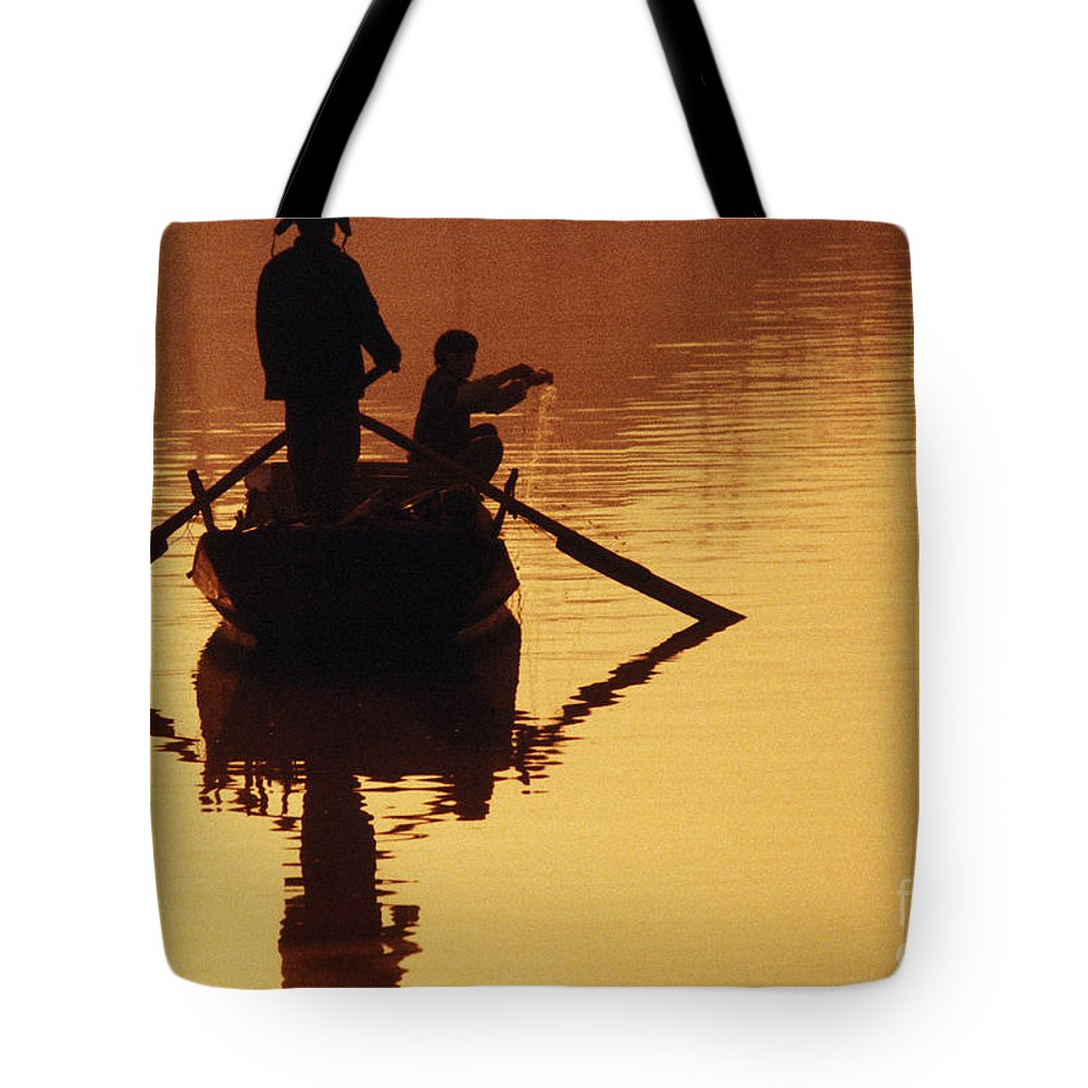 Asian Tote Bag featuring the photograph China, Tianjin by Larry Dale Gordon - Printscapes