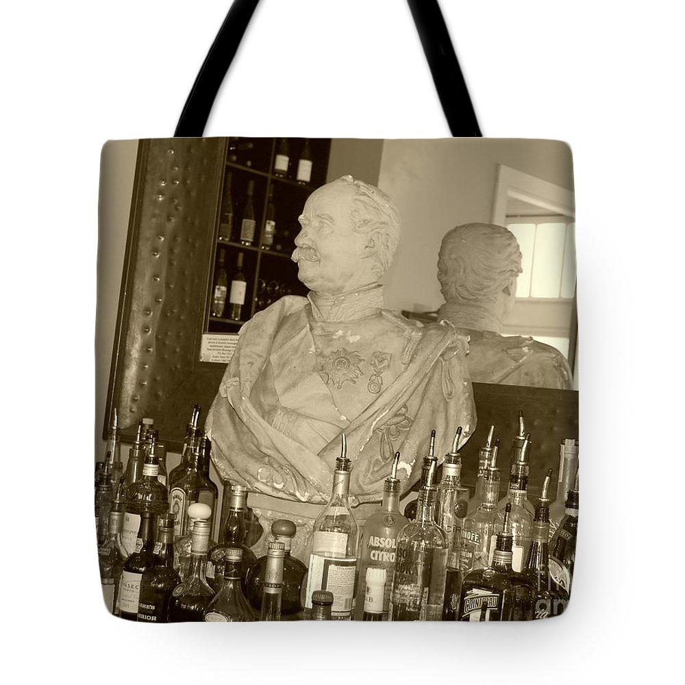 Bust Tote Bag featuring the photograph Chipped Reflection by Debbi Granruth