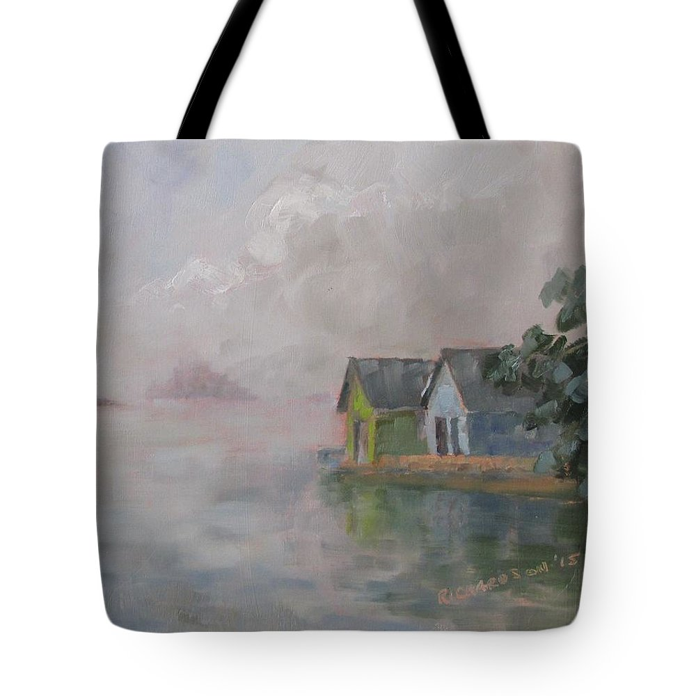 1 Tote Bag featuring the painting Chippewa Bay by Susan Richardson
