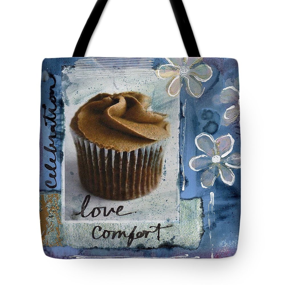 Chocolates Mixed Media Tote Bags