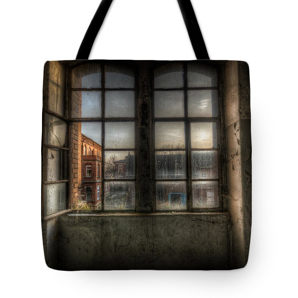 Urebx Tote Bag featuring the digital art Chocolate Window by Nathan Wright