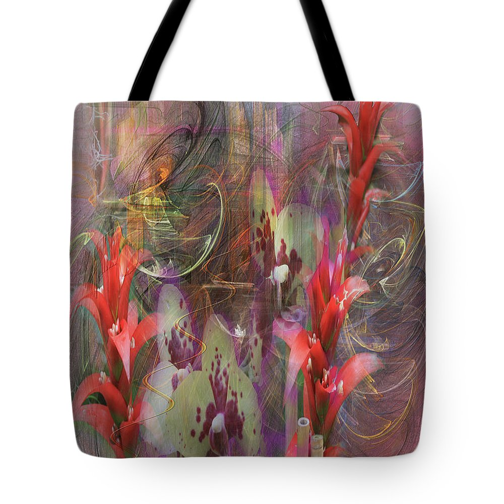 Chosen Ones Tote Bag featuring the digital art Chosen Ones by John Beck