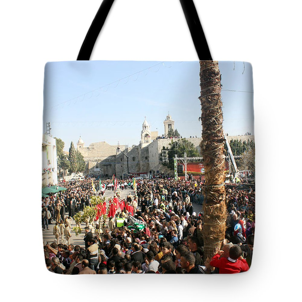 Christmas Tote Bag featuring the photograph Christmas 2010 by Munir Alawi