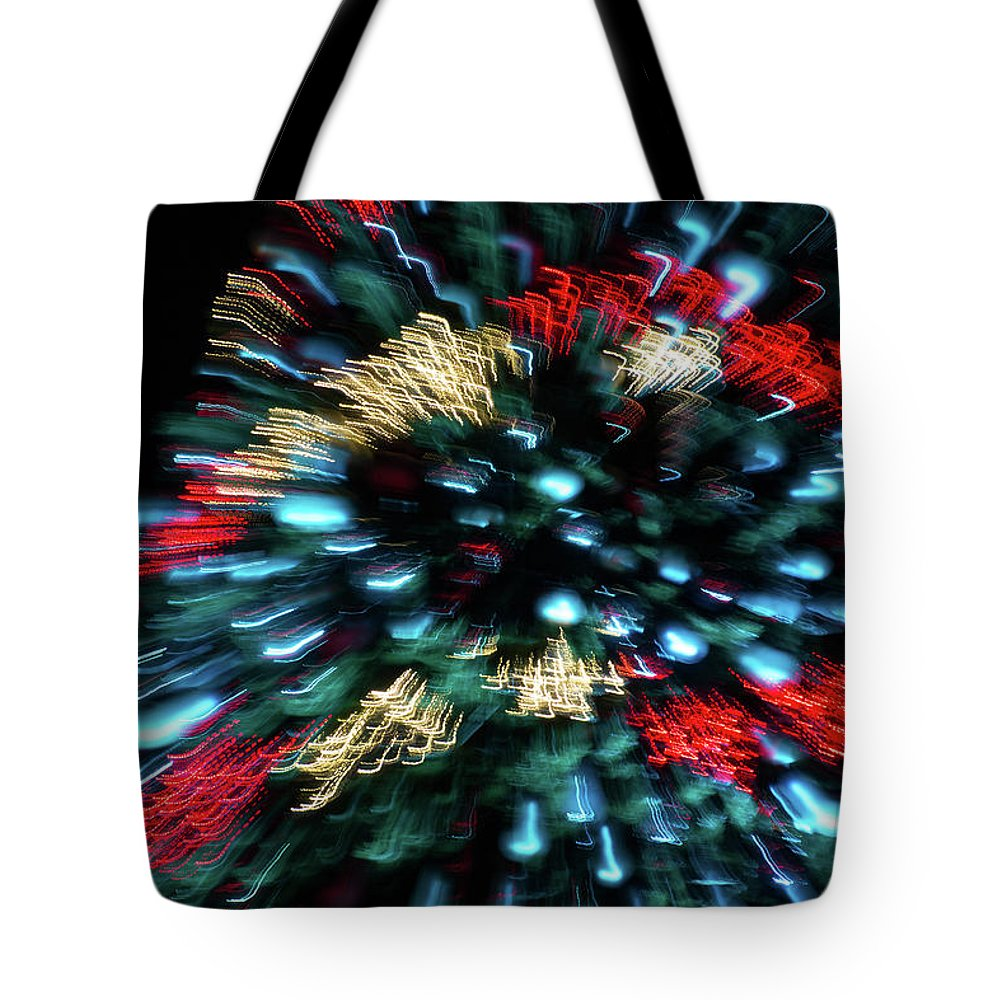 Christmas Tote Bag featuring the photograph Christmas Fantasy - 2 by Riccardo Forte