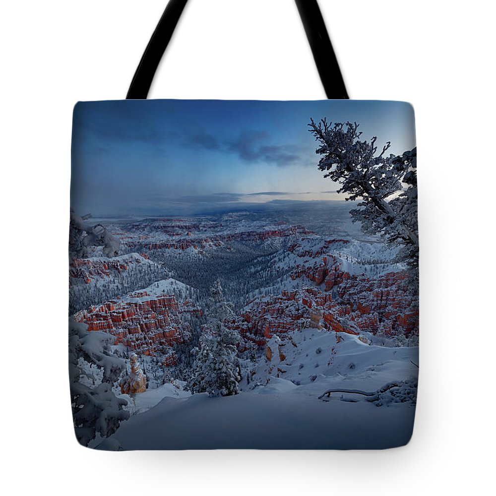 Christmas Light Photographs Tote Bags