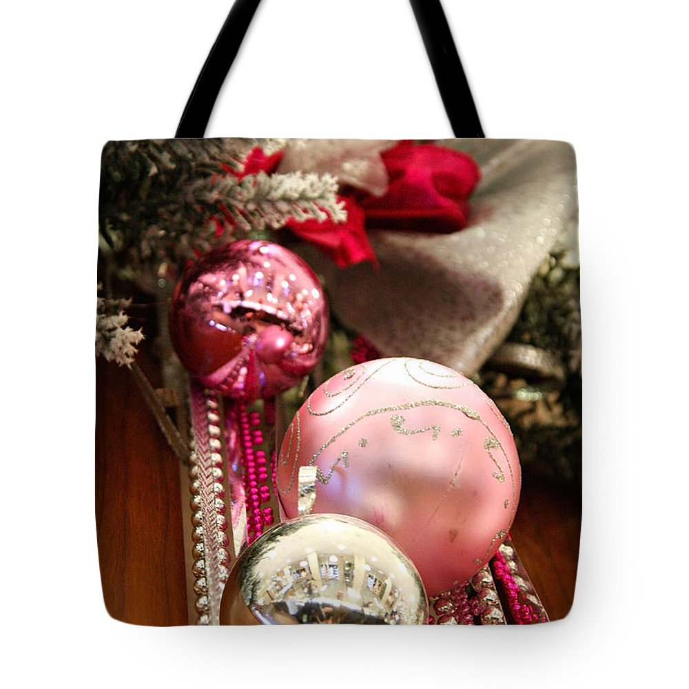 Holiday Tote Bag featuring the photograph Christmas by Masha Batkova