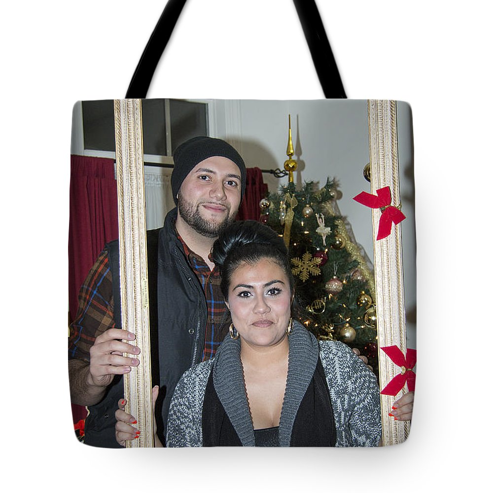America Tote Bag featuring the photograph Christmas Party 2014 - 026 by Riccardo Forte