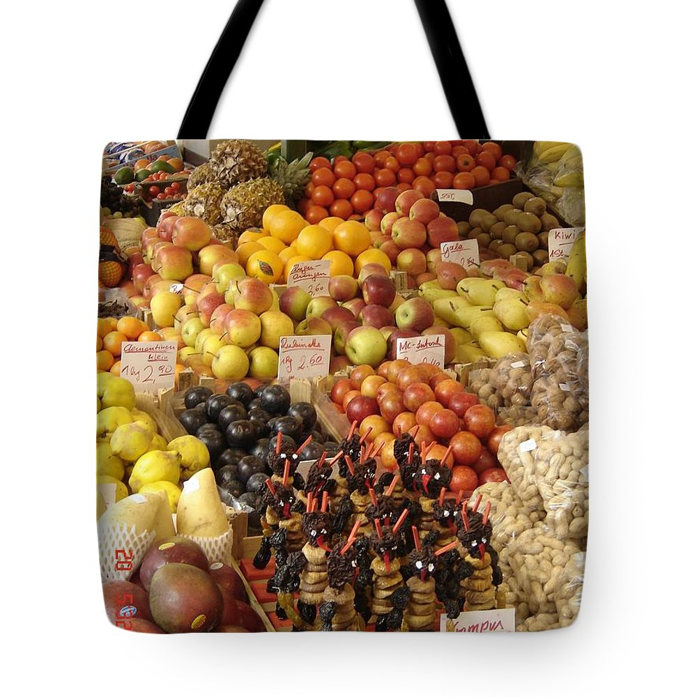 Food Tote Bag featuring the photograph Christmas Treasures by Mary Rogers