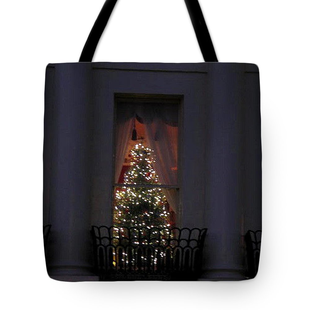 Christmas Tree Tote Bag featuring the photograph Christmas Tree by Maria Joy