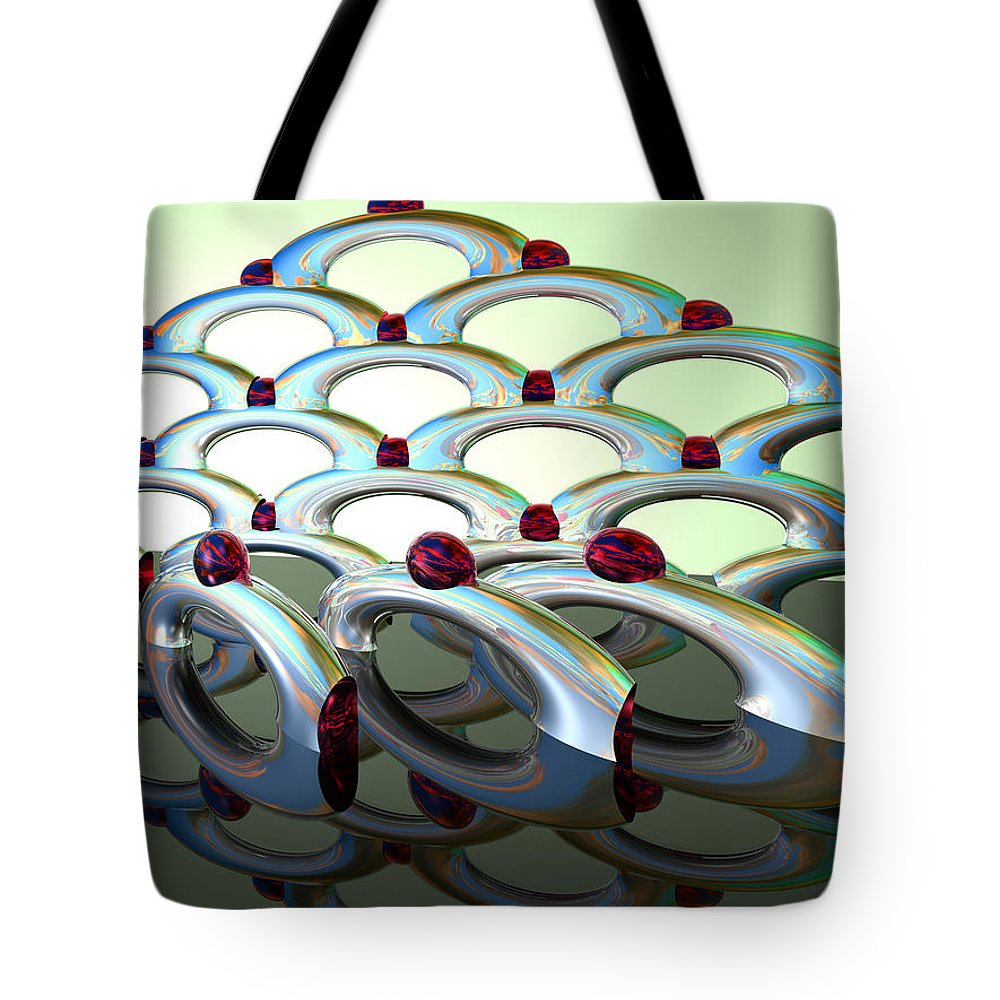 Scott Piers Tote Bag featuring the painting Chrome Sundae by Scott Piers