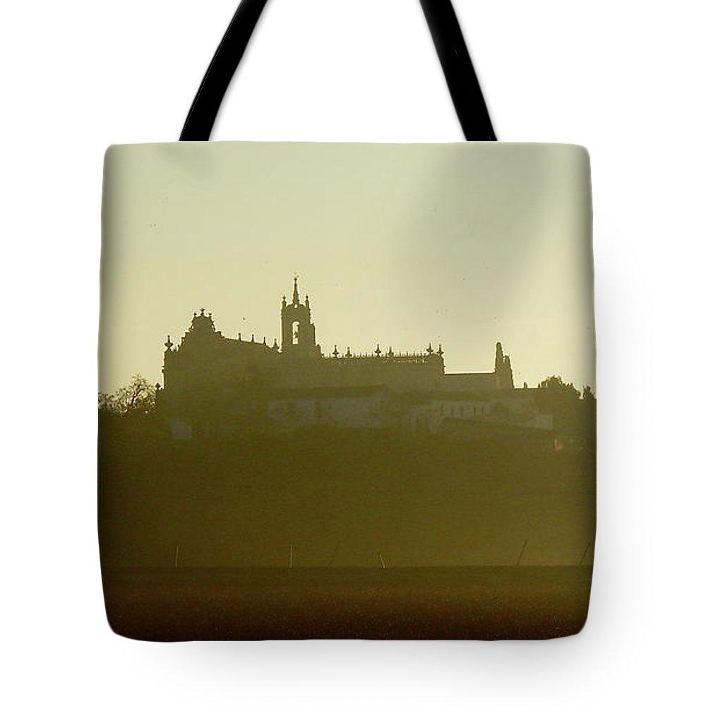 Rota Tote Bag featuring the photograph Chruch In Spain by Brett Winn