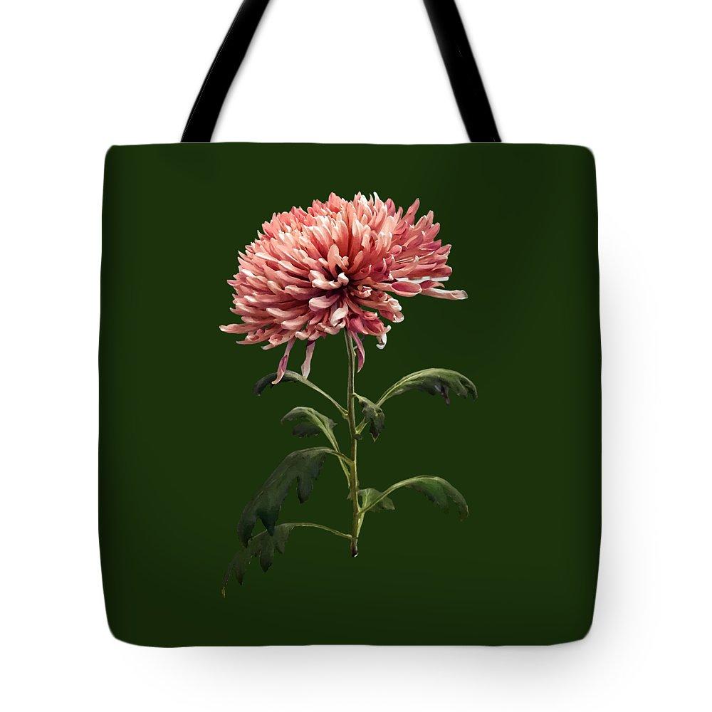 Chrysanthemum Tote Bag featuring the photograph Chrysanthemum Shelbers by Susan Savad