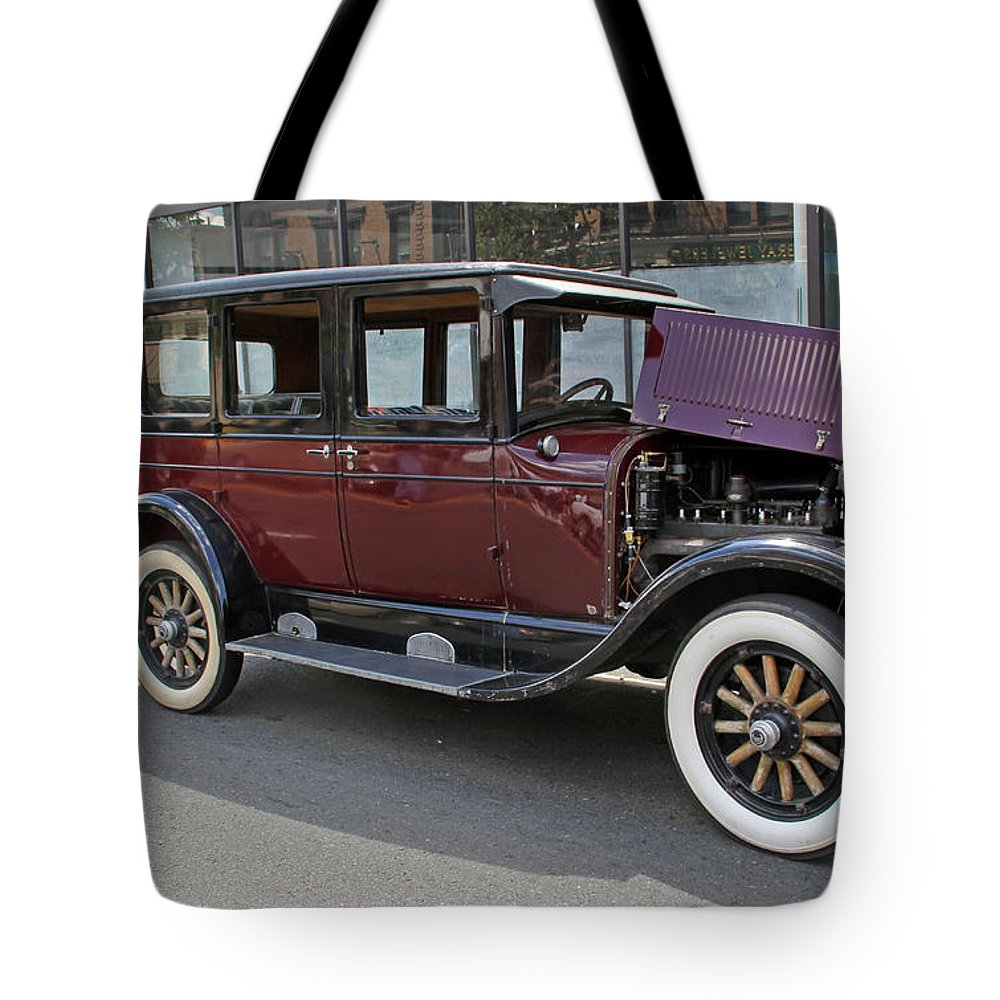 Cars Tote Bag featuring the photograph Chrysler 1926 by Gerald Mitchell