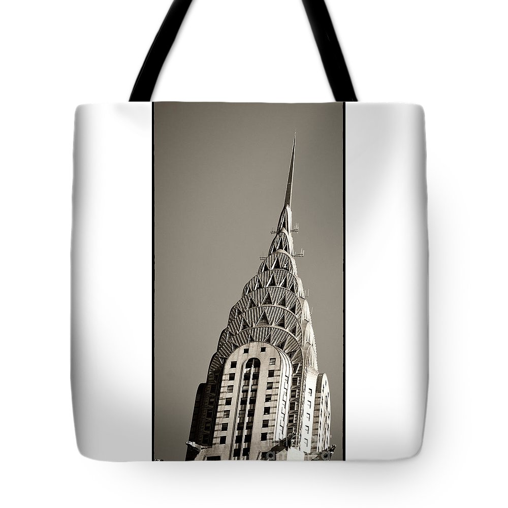 Chrysler Buidling Tote Bag featuring the photograph Chrysler Building New York City by Juergen Held
