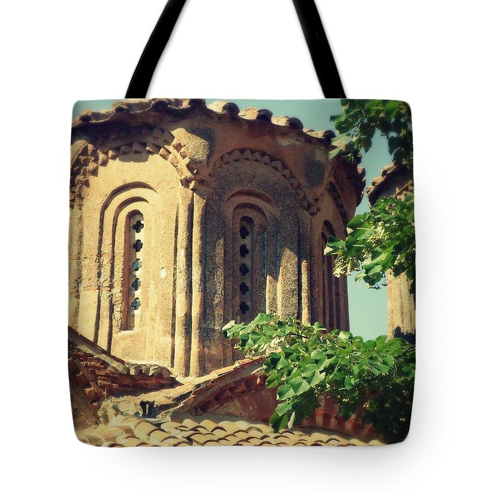 Churc Tote Bag featuring the photograph Churc by Filip Mazev