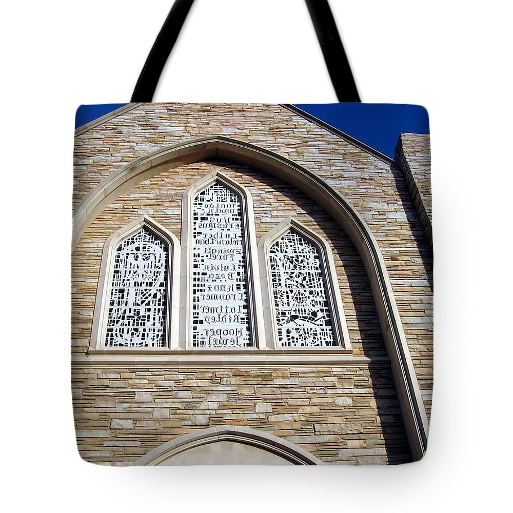 Church Tote Bag featuring the photograph Church by Amy Hosp